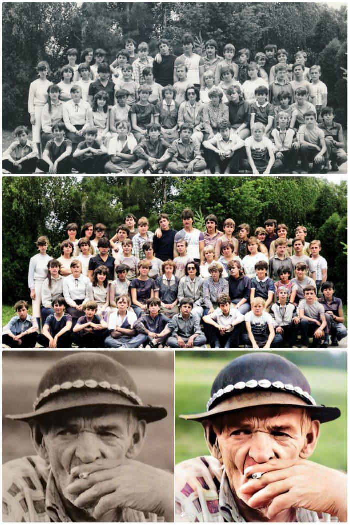 colorizácia fotiek